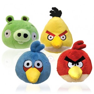 Angry Birds 8″ Plush Toys