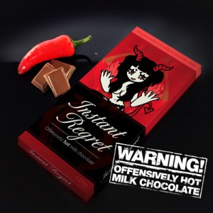 Instant Regret Chilli Chocolate