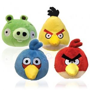 Angry Birds 8″ Plush Toys