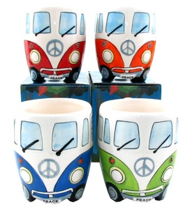 Retro Campervan Mugs