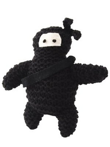 DIY Knitted Ninja